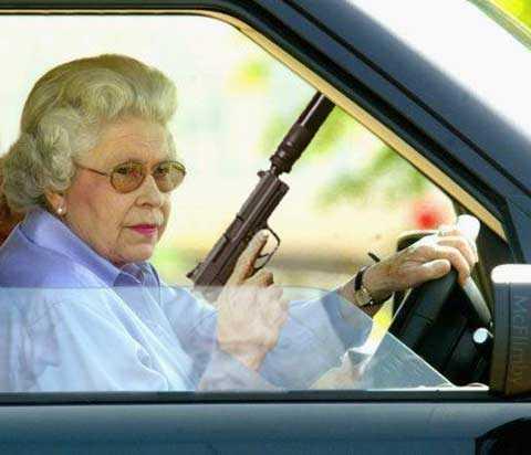Killing granny or killer Granny?